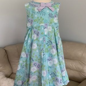 "New Janie and Jack Dress ""Sweet Coral Reef"" Sz 5T"
